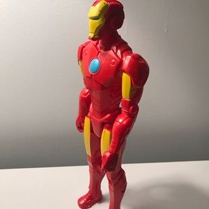 Iron man action figure.